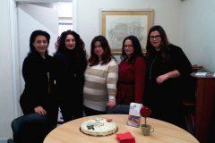 Athens Office Vasilopita Cutting 2017