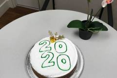 MONTREAL OFFICE VASILOPITA CUTTING 2020