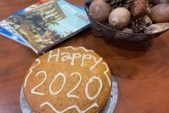 TORONTO OFFICE VASILOPITA CUTTING 2020